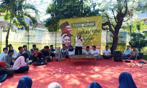 Tumpengan, Gusdurian Tulungagung Bulatkan Dukungan ke Jokowi-Maruf