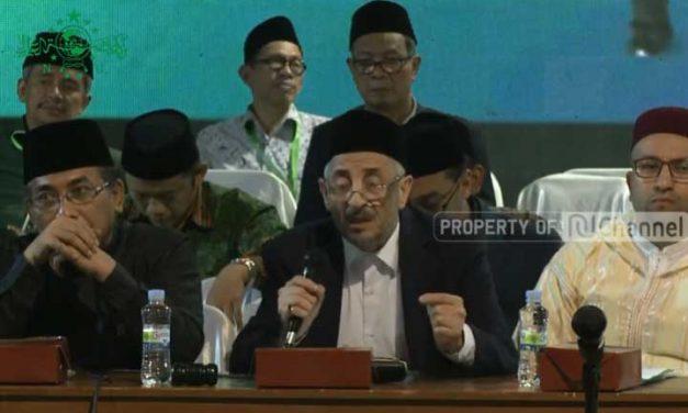 Syekh Dr. Taufiq Ramadhan Al Buthi: Indonesia Taman Surga, Jaga dengan Tiga Hal Ini