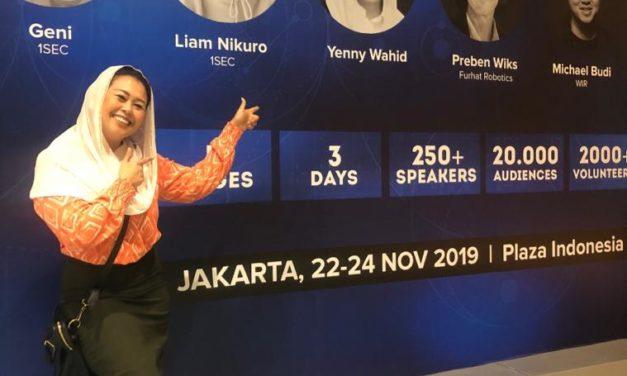 Hadapi Era 5.0 Society, Yenny Wahid Berbagi di Event Distrupto