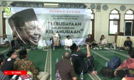 Rembug Budaya Dalam Haul Gus Dur Ke-10, Rekomendasikan 10 Poin Penting untuk Indonesia